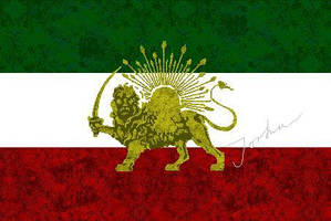 Pahlavi Flag by Persians