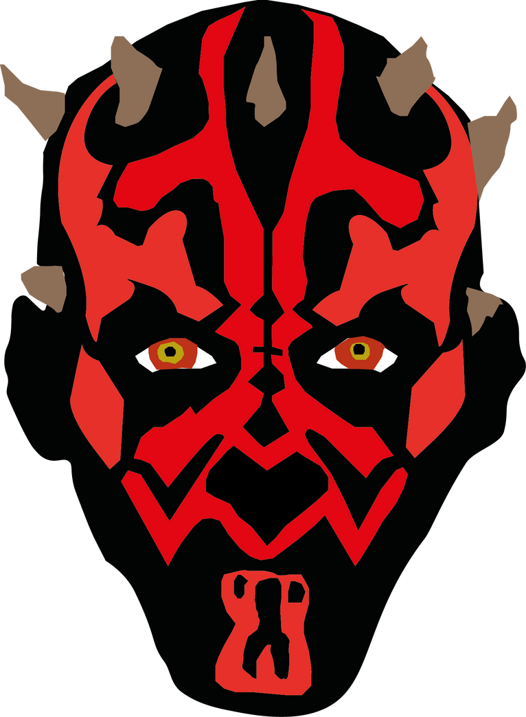 Shittiest Darth Maul Illustrator Drawing by ...
