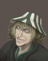 Bleach: Urahara Kisuke by artzyviolafreak