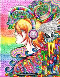 Waves of Music by Gaaraterra