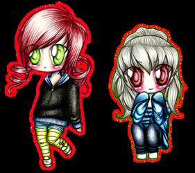 2 little ladies