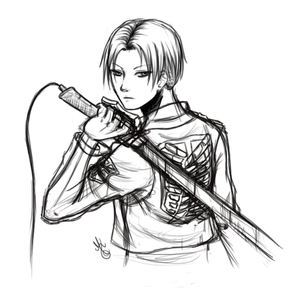 Rivaille sketch