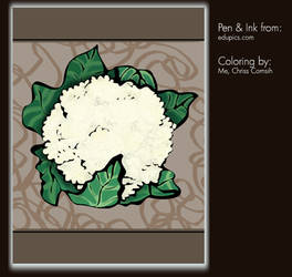 Coloring Project: Cauliflower by gamehengraphics