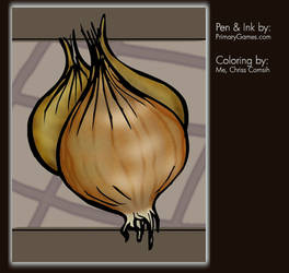 Coloring Project: Shallots by gamehengraphics