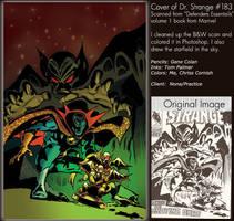 Coloring Practice: Dr. Strange
