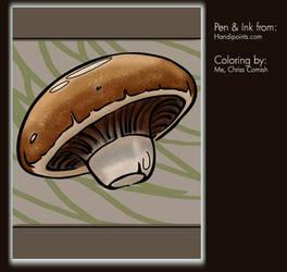 Coloring Project: Portobello by gamehengraphics