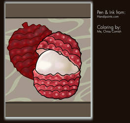 Coloring Project: Lychee by gamehengraphics