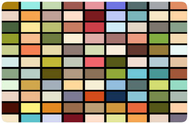 Swatch Mosaic by gamehengraphics