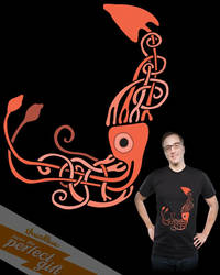 Knot A Giant Squid, Threadless by gamehengraphics