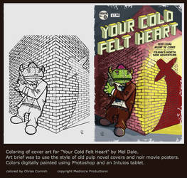 Coloring for Cover of Your Cold Felt Heart by gamehengraphics