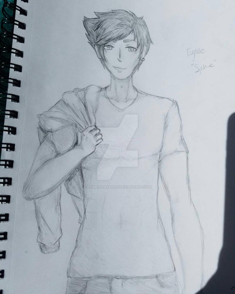 Eugene Spike (OC)  by animealibaba515