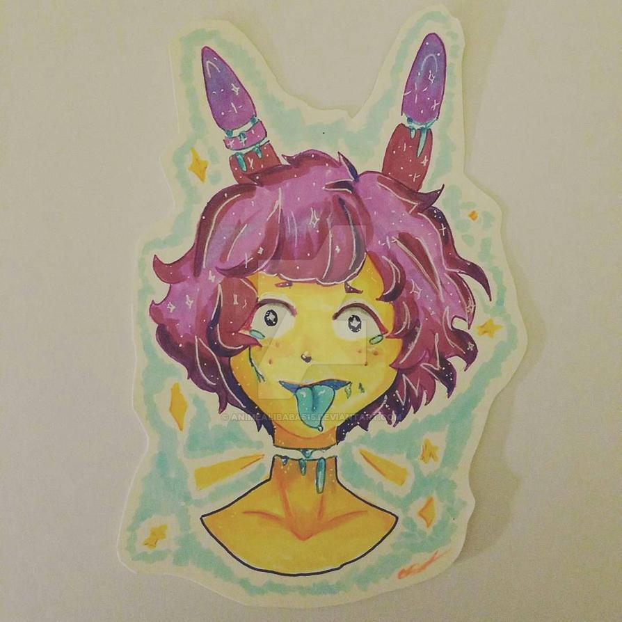 Pastel Gore (OC Benji) by animealibaba515