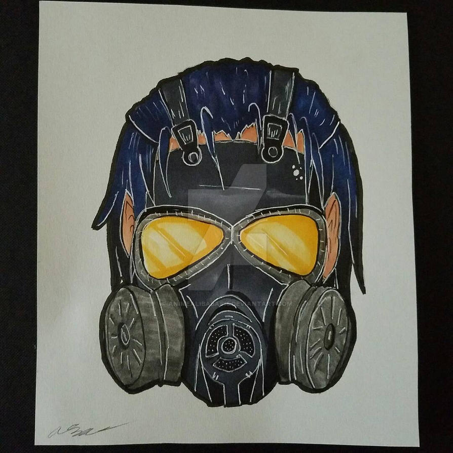 Gas Mask by animealibaba515