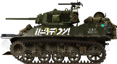 Minecraft m5a1 by TheSniperofAustraila