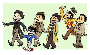 Detective parade