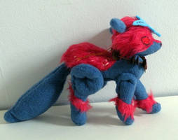 Commission: Jointed Oki Plushie 1 by Naoru