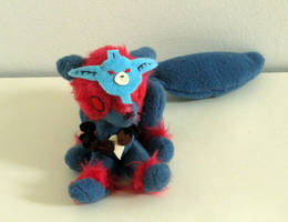 Commission: Jointed Oki Plushie 3 by Naoru