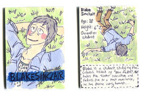 Blake Sinclair Character Card by Naoru