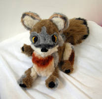 Commission: jointed Aislin plush by Naoru