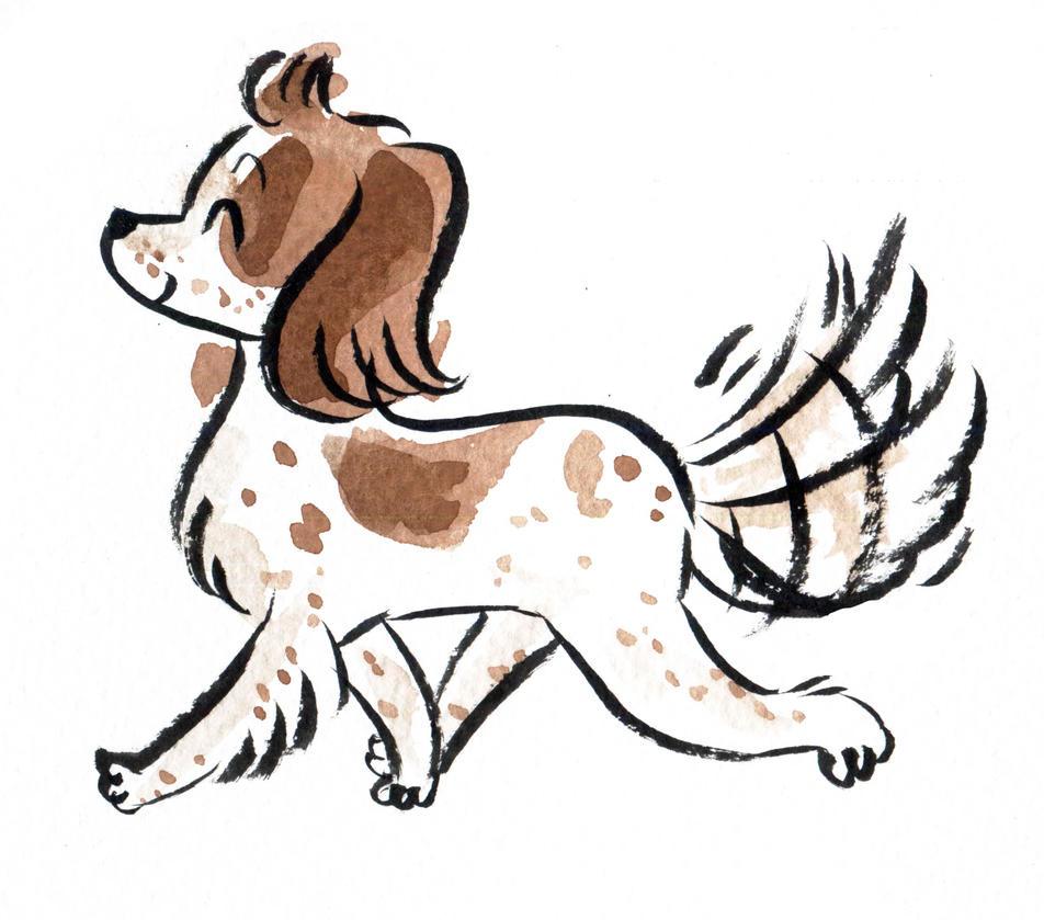 Dog Parade: English Springer Spaniel by Naoru