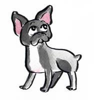Dog Parade: French bulldog by Naoru