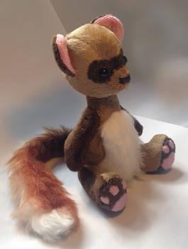 Ferret Plush pattern available :D