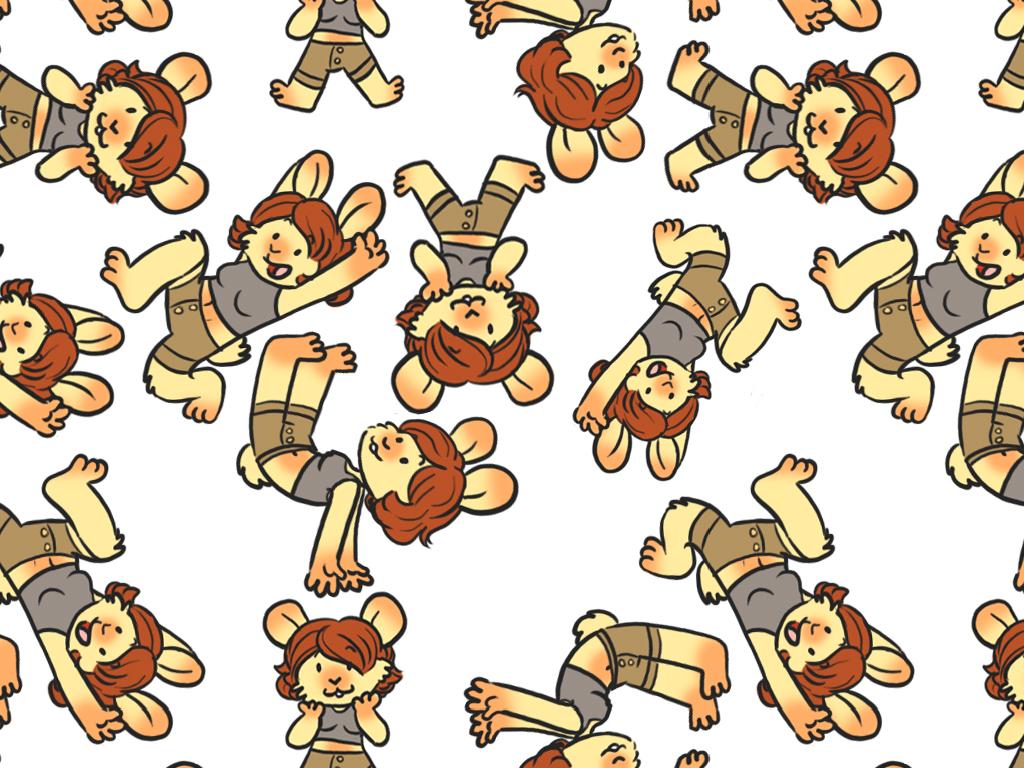 Chongi Wallpaper Freebie by Naoru