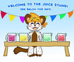Come buy a drink!! by Naoru