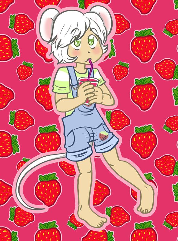 Ollie strawberry juice