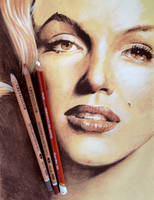 Marilyn in Three Colors by anyus