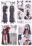 Priest Axiel   Auction adoptable  closed