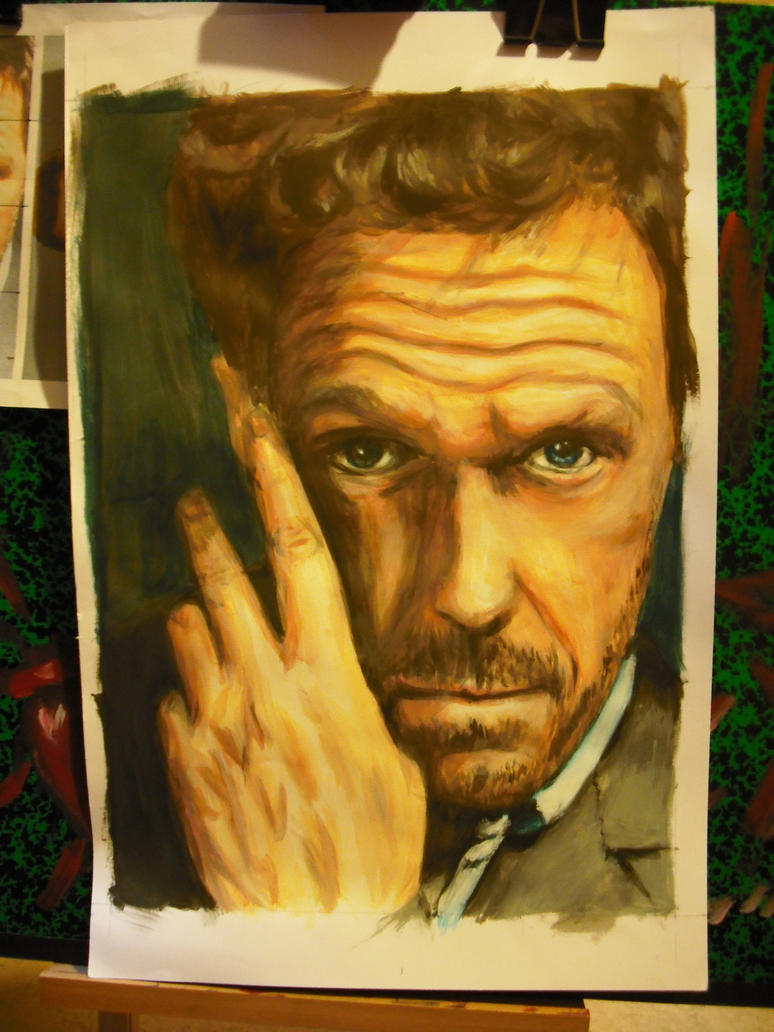 House MD  WIP 4 by Patmol