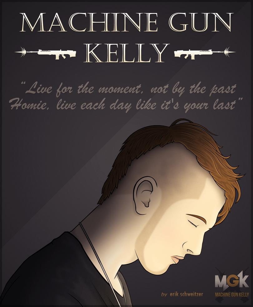 Machine Gun Kelly By SchweitzerFX