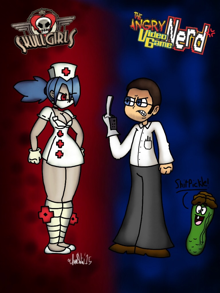 What If The Avgn Was In Skullgirls By Theiransonic On Deviantart