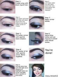 Supernatural inspired make-up tutorial