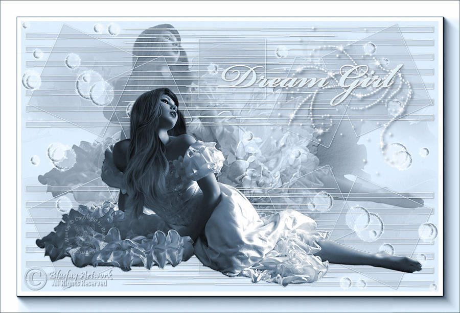 "Bluefay ""Dream Girl"" by BluefayTutorials"