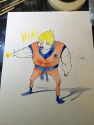 Goku by NachoBoyIQ