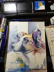 Dog Commission by NachoBoyIQ