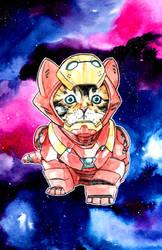 Iron Cat... in Space! by NachoBoyIQ