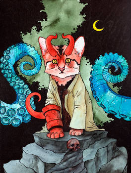 Hellboy Kitty