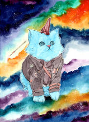 Guardians of the Galaxy Yondu Cat!