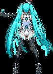 Hatsune Miku - Race queen