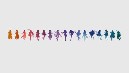 Atelier Heroines Wallpaper by Dekodere