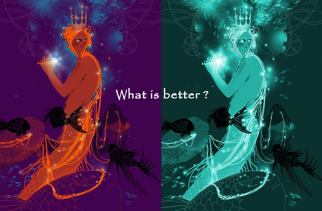 What is better ? by GabiWieczorek