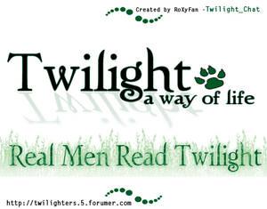 Real Men Read Twilight