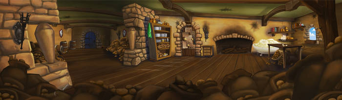 Castle Makeshift Kitchen