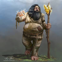 Borr Burison - Penniless Half-Giant Sorcerer