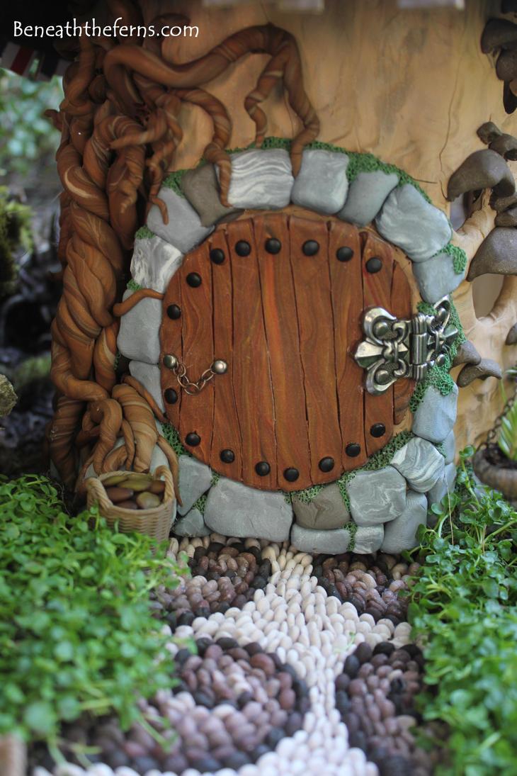 Hobbit House Door Fairy House Fairy Garden Miniat By