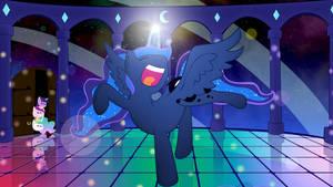 Luna dance by StarBlaze25