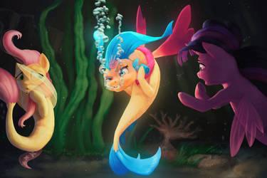 I'm a f***ing glow fish by StarBlaze25